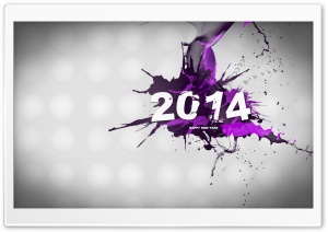 New Year 2014 HD Wide Wallpaper for 4K UHD Widescreen desktop & smartphone