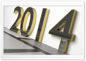 New Year 2014 HD Wide Wallpaper for Widescreen