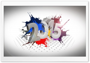 New Year 2015 HD Wide Wallpaper for Widescreen