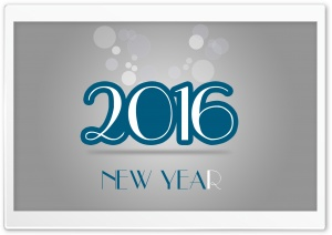 New Year - 2016 HD Wide Wallpaper for Widescreen