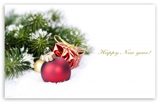 download new year card hd wallpaper