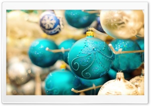 New Year Decorations HD Wide Wallpaper for Widescreen
