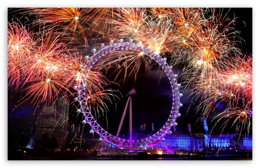 download new year eve in london hd wallpaper