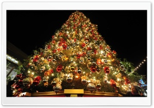 New Year Tree 2014 HD Wide Wallpaper for Widescreen