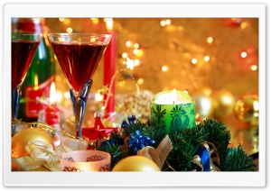 New Years Celebration HD Wide Wallpaper for Widescreen