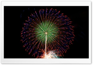 New Years Eve 2012 Fireworks HD Wide Wallpaper for Widescreen
