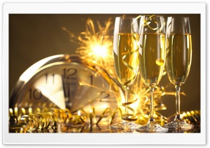 New Years Eve 2015 HD Wide Wallpaper for 4K UHD Widescreen desktop & smartphone