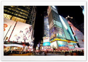 New York Advertisement HD Wide Wallpaper for Widescreen