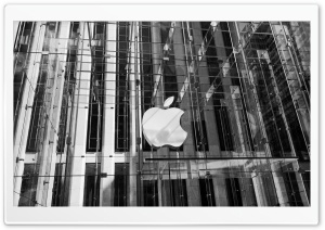 New York Apple Building HD Wide Wallpaper for 4K UHD Widescreen desktop & smartphone