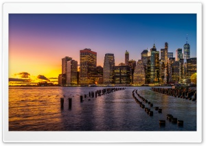 New York City HD Wide Wallpaper for Widescreen