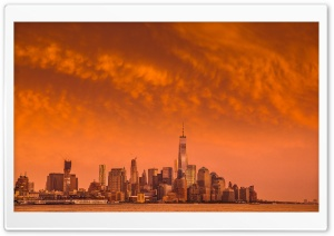 New York City After the Storm HD Wide Wallpaper for Widescreen