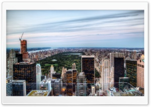 New York City Central Park View HD Wide Wallpaper for 4K UHD Widescreen desktop & smartphone