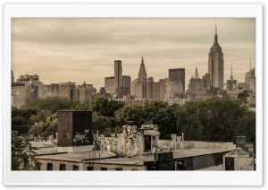 New York City East Village HD Wide Wallpaper for 4K UHD Widescreen desktop & smartphone