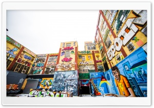 New York City Graffiti HD Wide Wallpaper for Widescreen