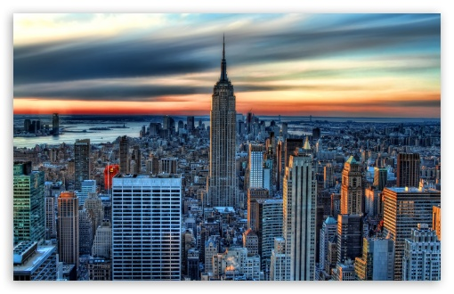 New York City HDR 4K HD Desktop Wallpaper For 4K Ultra HD