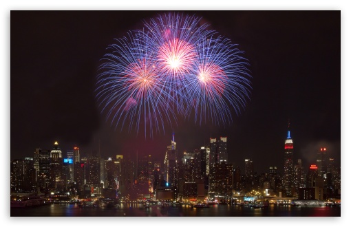 download new york city new year hd wallpaper