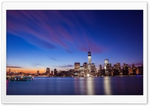 New York City Skyline HD Wide Wallpaper for Widescreen