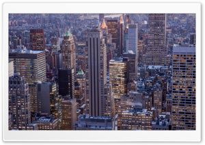 New York City Skyscrapers HD Wide Wallpaper for Widescreen