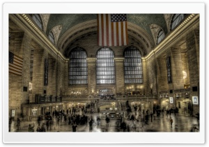 New York Grand Central Station HD Wide Wallpaper for 4K UHD Widescreen desktop & smartphone