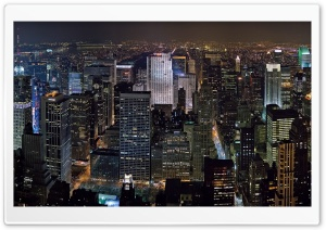 New York Midtown Skyline HD Wide Wallpaper for Widescreen