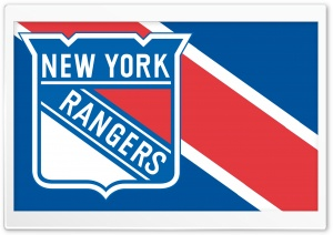 New York Rangers HD Wide Wallpaper for Widescreen