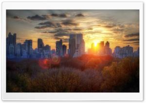 New York Scene HD Wide Wallpaper for Widescreen