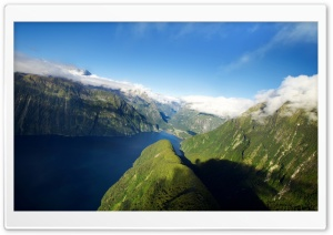 New Zealand Fjords HD Wide Wallpaper for Widescreen