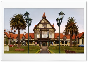 New Zealand Rotorua Museum HD Wide Wallpaper for Widescreen