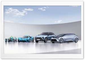 NextEV Nio Electric Cars HD Wide Wallpaper for Widescreen