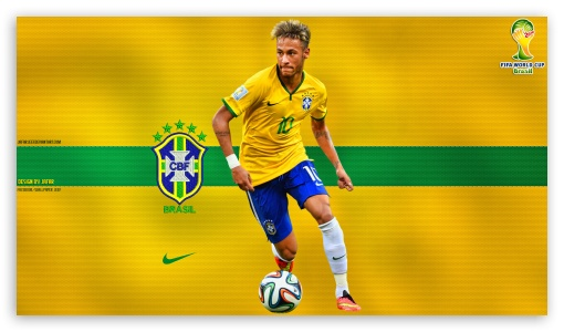 NEYMAR BRAZIL WORLD CUP 2014 ❤ 4K UHD Wallpaper for 4K UHD 16:9 Ultra High Definition 2160p 1440p 1080p 900p 720p ; Smartphone 5:3 WGA ; Tablet 1:1 ; iPad 1/2/Mini ; Mobile 4:3 5:3 3:2 - UXGA XGA SVGA WGA DVGA HVGA HQVGA ( Apple PowerBook G4 iPhone 4 3G 3GS iPod Touch ) ;