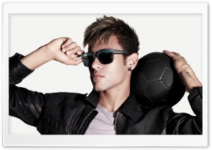 Neymar Jr. HD Wide Wallpaper for Widescreen