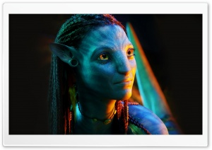 Neytiri HD Wide Wallpaper for Widescreen