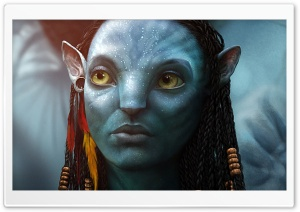 Neytiri 2017 Avatar 2 HD Wide Wallpaper for Widescreen