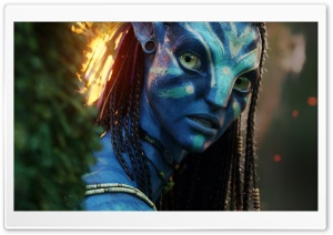 Neytiri   Avatar Movie 1 HD Wide Wallpaper for Widescreen