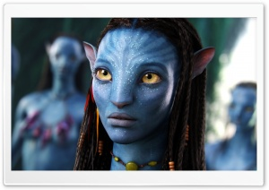 Neytiri Avatar Movie HD Wide Wallpaper for 4K UHD Widescreen desktop & smartphone