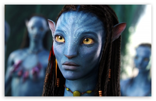 Download Neytiri Avatar Movie UltraHD Wallpaper