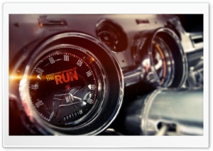 NFS - The Run HD Wide Wallpaper for Widescreen