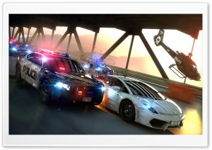 NFS Most Wanted Lamborghini HD Wide Wallpaper for Widescreen