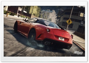 NFS Rivals Ferrari HD Wide Wallpaper for Widescreen