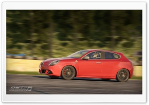 NFS Shift 2, Alfa Romeo Giulietta Qv HD Wide Wallpaper for Widescreen