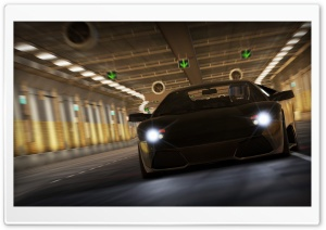 NFS Shift 2 Unleashed, Lamborghini Murcielago LP640 HD Wide Wallpaper for Widescreen