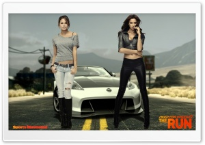 NFS The Run Sports Illustrated Models HD Wide Wallpaper for Widescreen