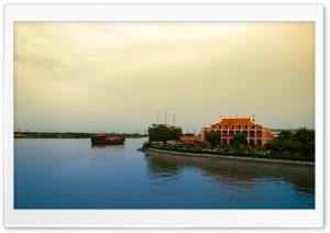 Nha Rong Harbor HD Wide Wallpaper for Widescreen