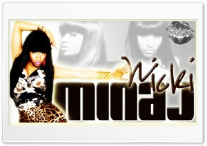 Nicki Minaj Ultra HD Wallpaper for 4K UHD Widescreen desktop, tablet & smartphone