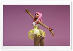 Nicki Minaj Barbie Doll HD Wide Wallpaper for 4K UHD Widescreen desktop & smartphone
