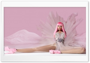 Nicki Minaj Pink Friday HD Wide Wallpaper for Widescreen