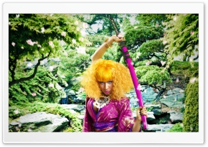 Nicki Minaj Samurai HD Wide Wallpaper for Widescreen