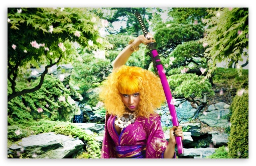 Nicki Minaj Samurai HD wallpaper for Wide 16:10 5:3 Widescreen WHXGA WQXGA WUXGA WXGA WGA ; HD 16:9 High Definition WQHD QWXGA 1080p 900p 720p QHD nHD ; Standard 4:3 5:4 3:2 Fullscreen UXGA XGA SVGA QSXGA SXGA DVGA HVGA HQVGA devices ( Apple PowerBook G4 iPhone 4 3G 3GS iPod Touch ) ; Tablet 1:1 ; iPad 1/2/Mini ; Mobile 4:3 5:3 3:2 16:9 5:4 - UXGA XGA SVGA WGA DVGA HVGA HQVGA devices ( Apple PowerBook G4 iPhone 4 3G 3GS iPod Touch ) WQHD QWXGA 1080p 900p 720p QHD nHD QSXGA SXGA ;