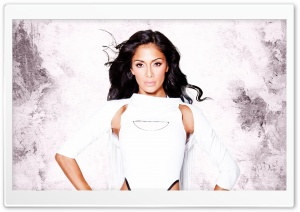 Nicole Scherzinger HD Wide Wallpaper for Widescreen