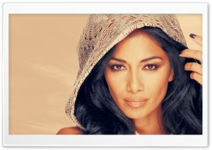 Nicole Scherzinger Portrait HD Wide Wallpaper for Widescreen